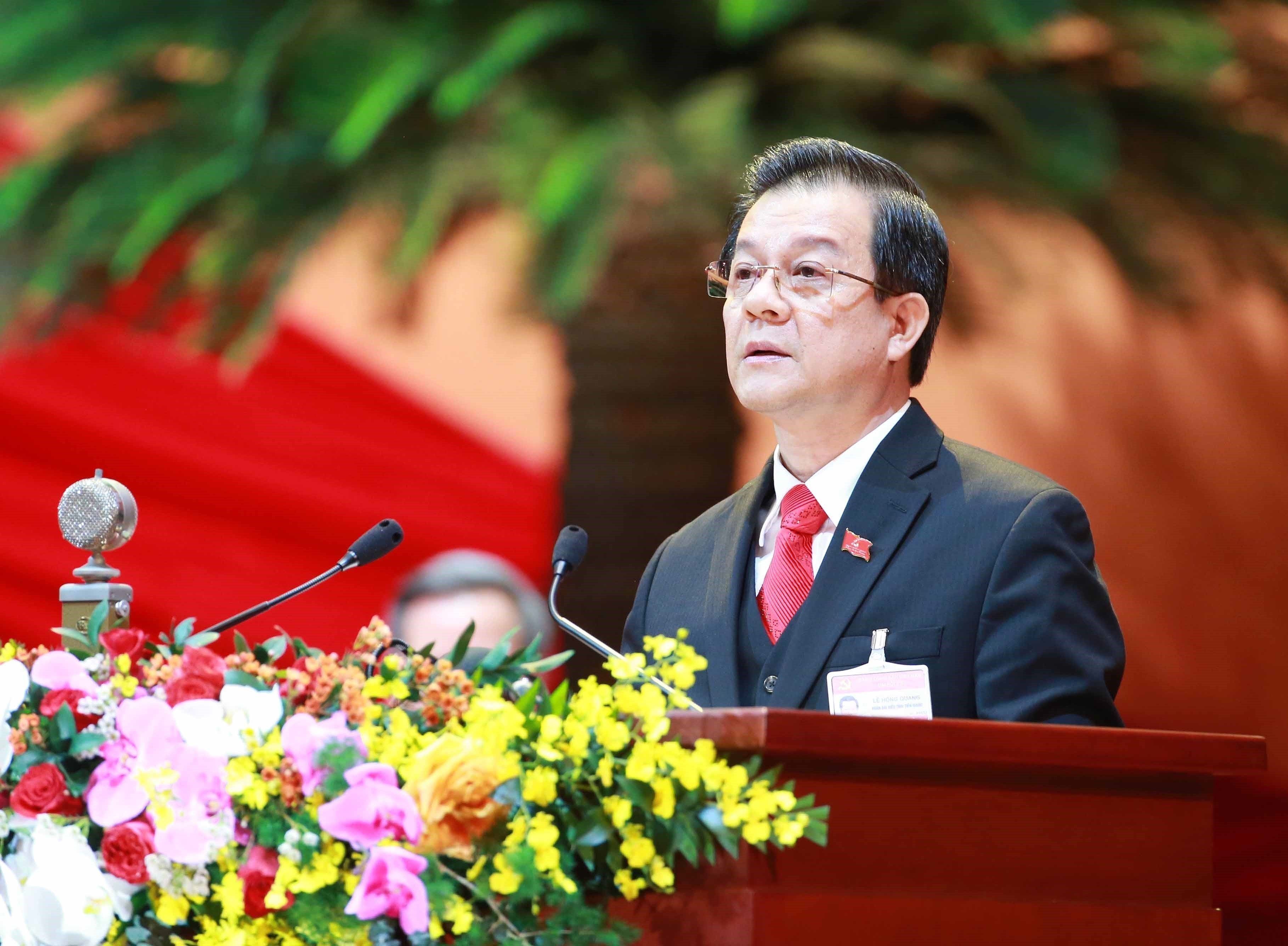 Delegates present discourses on congress's third working day hinh anh 5