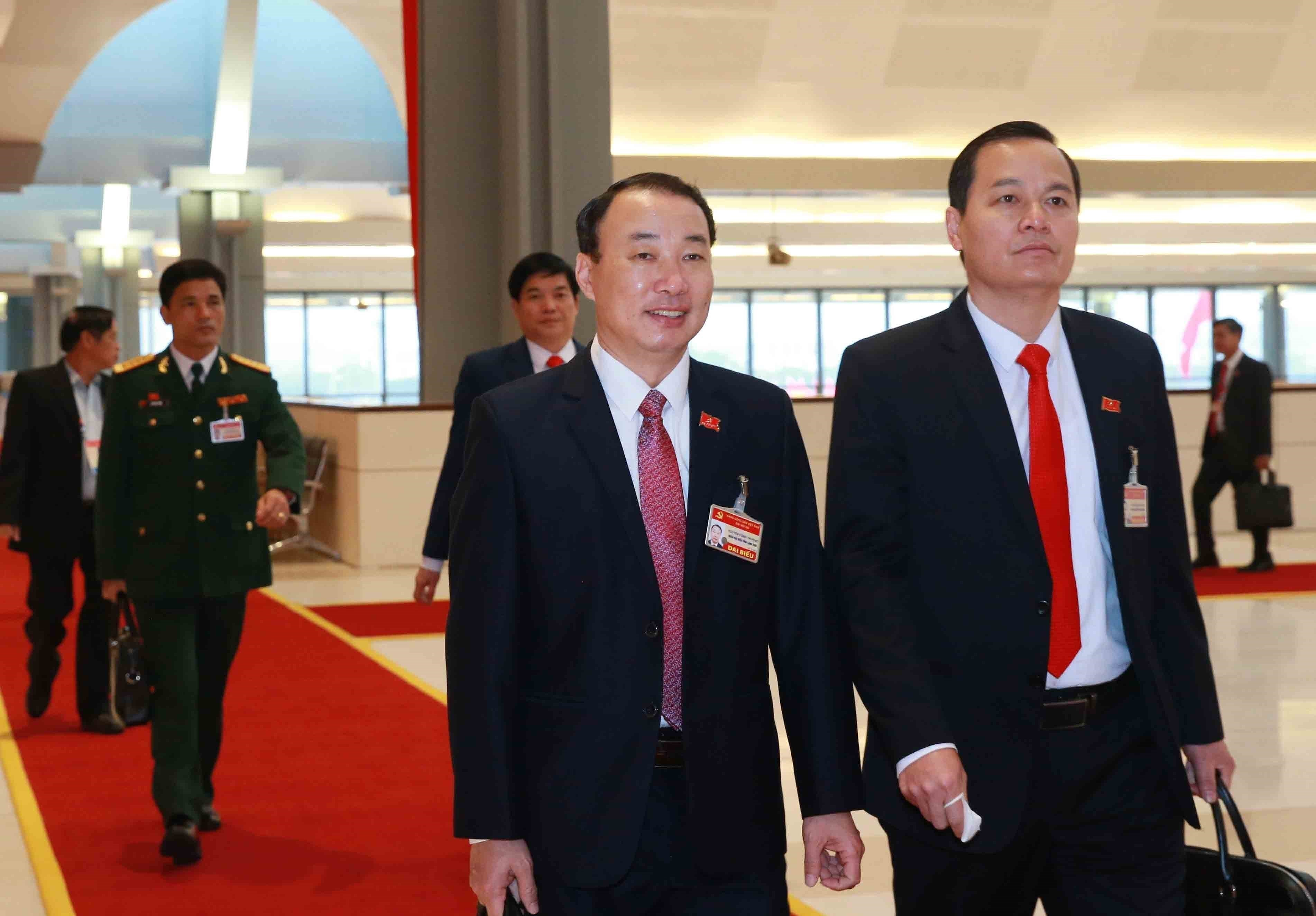 Party Congress delegates enter fifth working day hinh anh 1