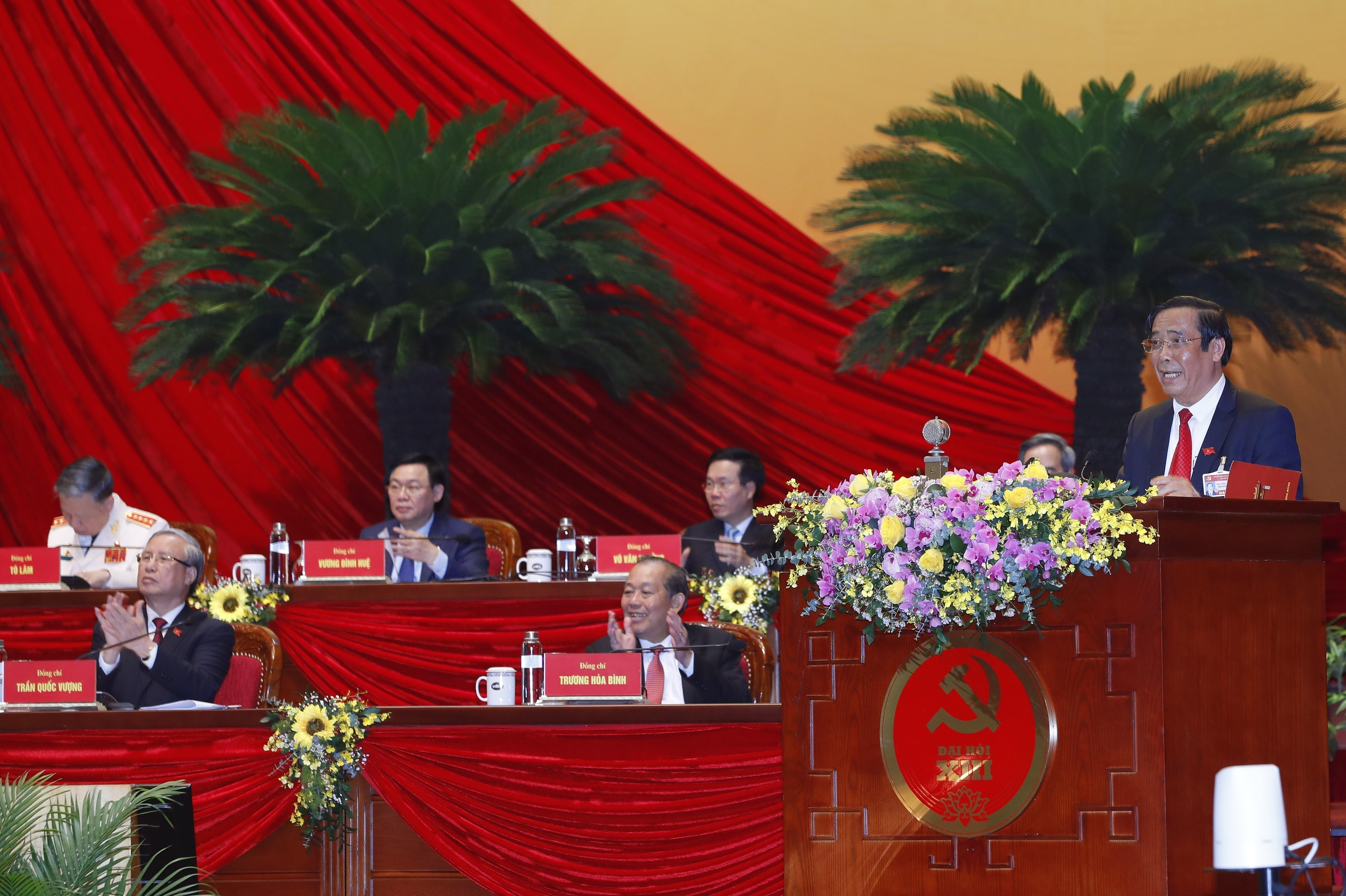 Voting results on new Party Central Committee announced hinh anh 1