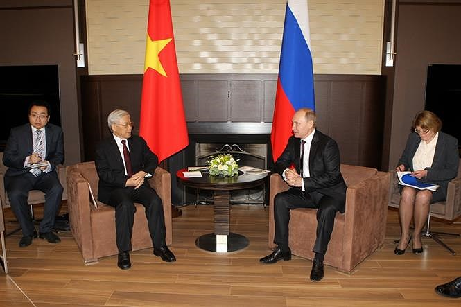 70th anniversary of Vietnam-Russia diplomatic ties hinh anh 10
