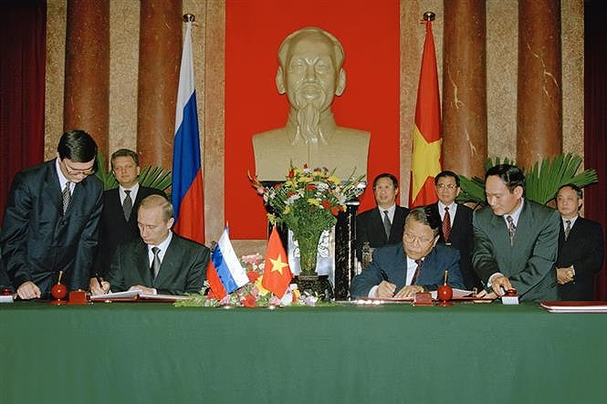 70th anniversary of Vietnam-Russia diplomatic ties hinh anh 11