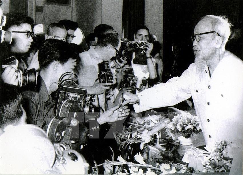 President Ho Chi Minh – founder of Vietnam's Revolutionary Press hinh anh 1