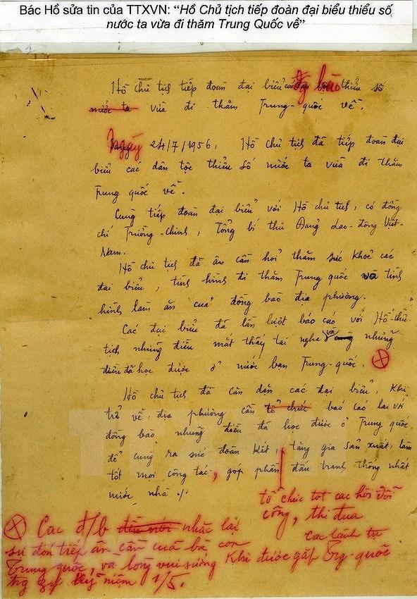 President Ho Chi Minh – founder of Vietnam's Revolutionary Press hinh anh 12