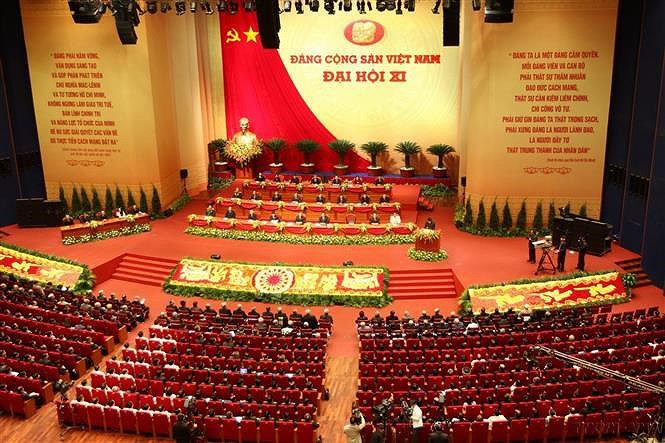 11th National Party Congress: Comprehensive promotion of reform hinh anh 1