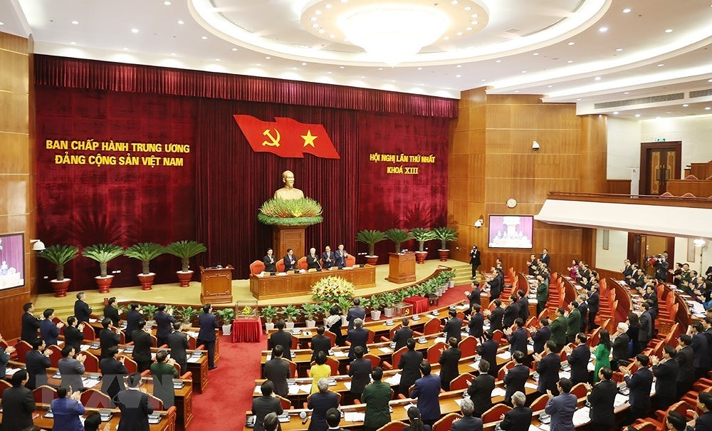 Nguyen Phu Trong re-elected to be Party General Secretary hinh anh 2