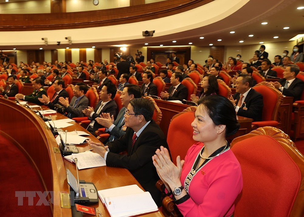 Nguyen Phu Trong re-elected to be Party General Secretary hinh anh 5