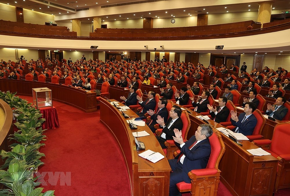 Nguyen Phu Trong re-elected to be Party General Secretary hinh anh 7
