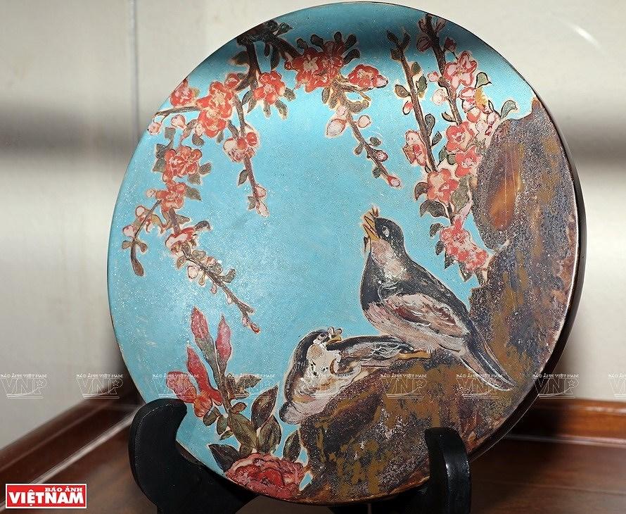 Reviving Hang Trong folk paintings from traditional materials hinh anh 12