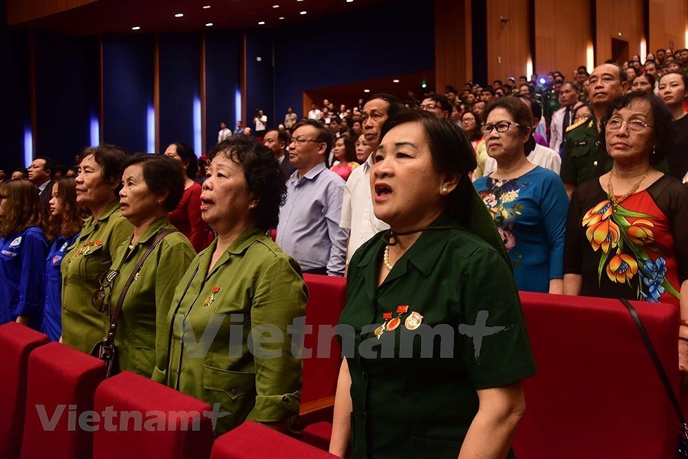 Grand ceremony marks President Ho Chi Minh's birthday hinh anh 12