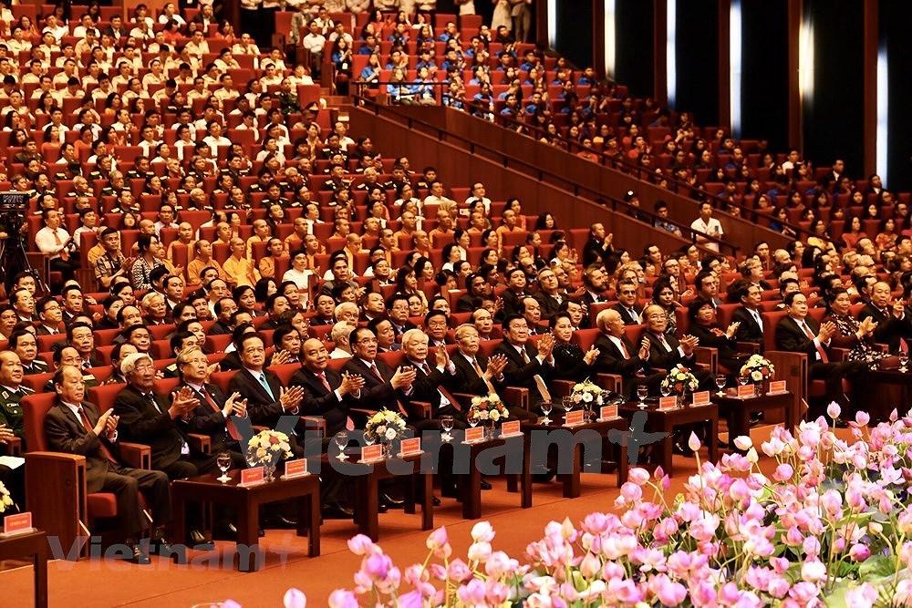 Grand ceremony marks President Ho Chi Minh's birthday hinh anh 14