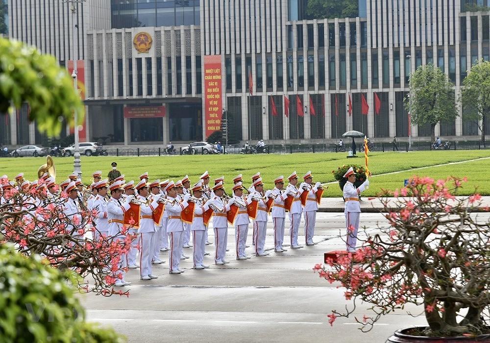 Grand ceremony marks President Ho Chi Minh's birthday hinh anh 3