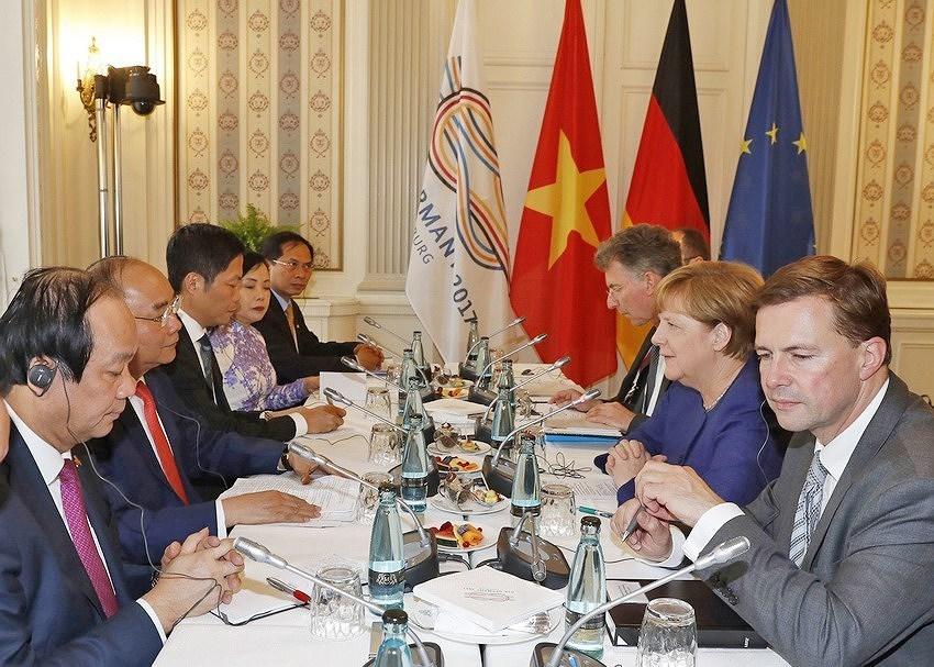 Vietnam, Germany boost strategic partnership hinh anh 8