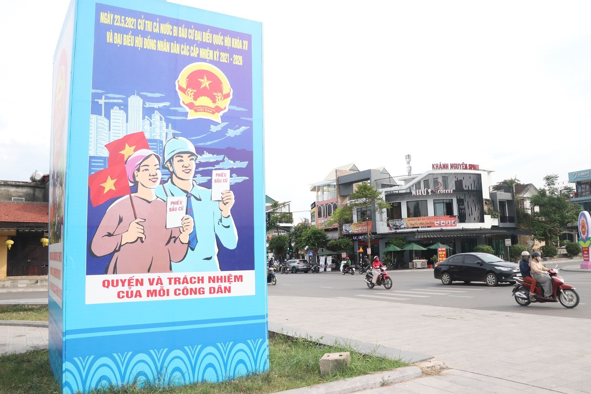 Vietnam ready for election day hinh anh 9