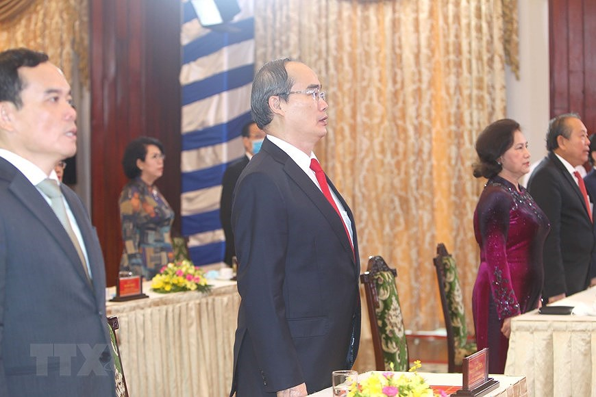 National Reunification Day celebrated across Vietnam hinh anh 16