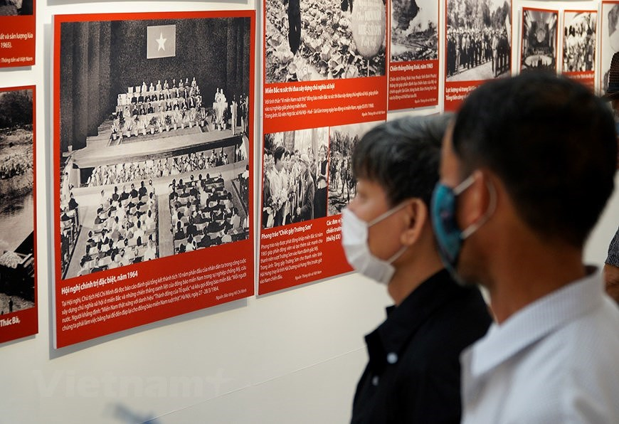 Special exhibition on Vietnam's development path hinh anh 6