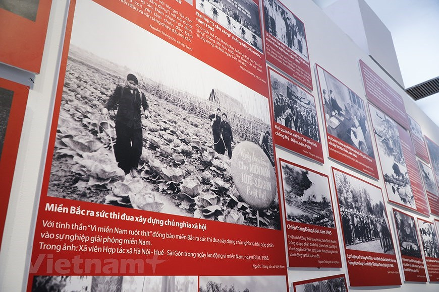 Special exhibition on Vietnam's development path hinh anh 7