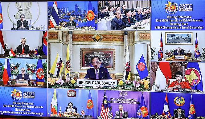 37th ASEAN Summit and Related Summits wrap up hinh anh 1