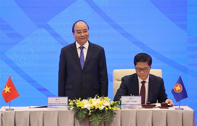 ASEAN 2020: Signing Ceremony for Regional Comprehensive Economic Partnership hinh anh 3