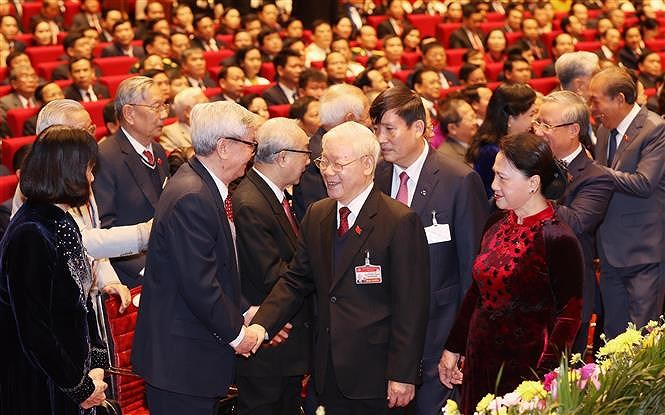 National Party Congress opens in Hanoi hinh anh 1