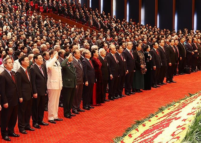 National Party Congress opens in Hanoi hinh anh 3