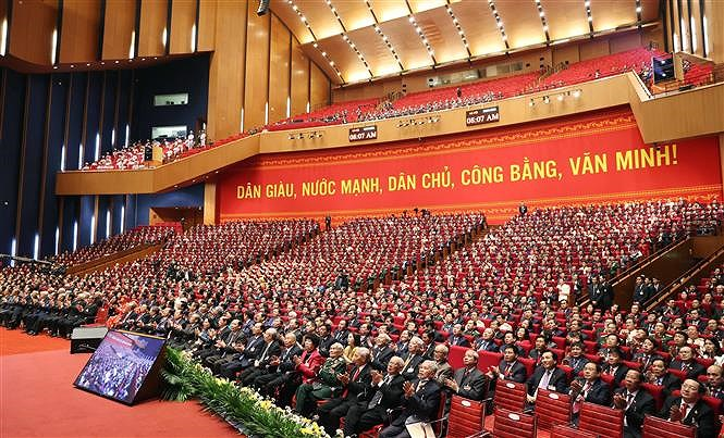 National Party Congress opens in Hanoi hinh anh 4