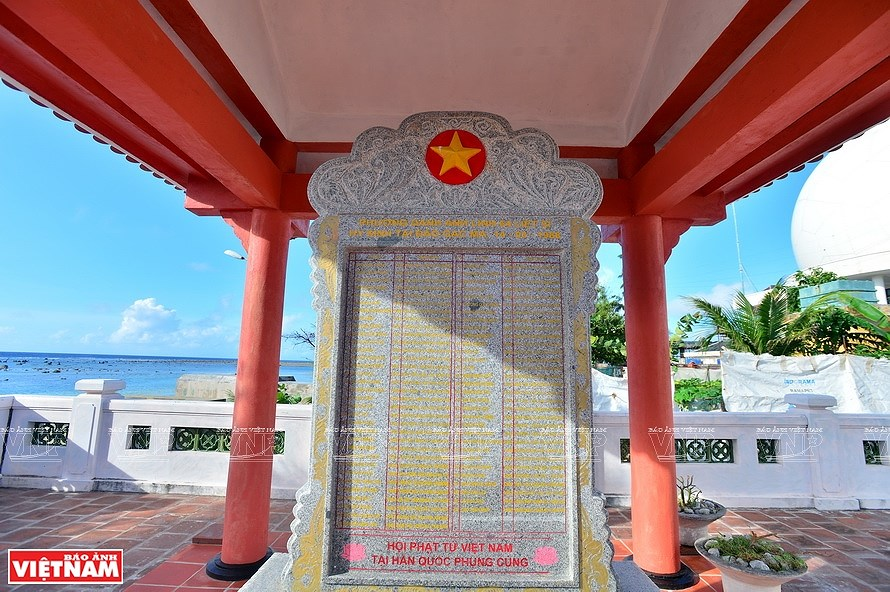 Vinh Phuc pagoda solemn in East Sea hinh anh 5
