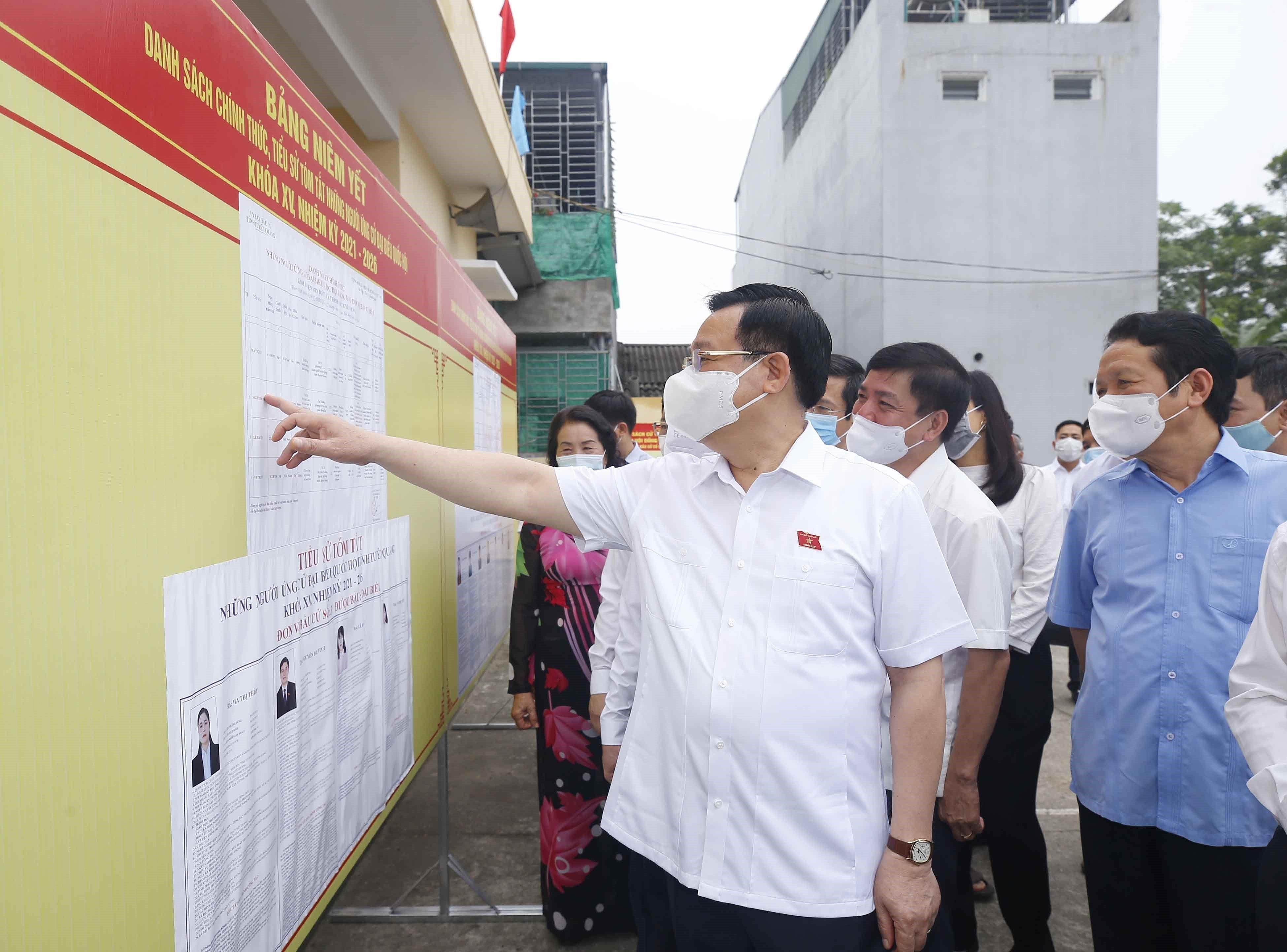 Legislative leader inspects election preparations in Tuyen Quang province hinh anh 3