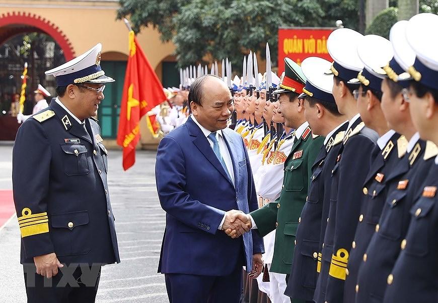 Building elite, modern Vietnam People's Navy hinh anh 5