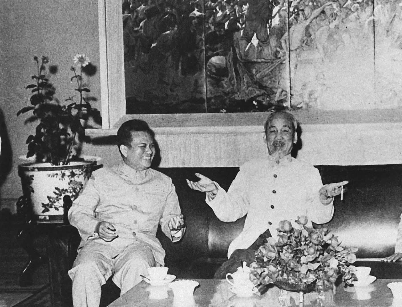 President Ho Chi Minh's thoughts on int'l solidarity hinh anh 11