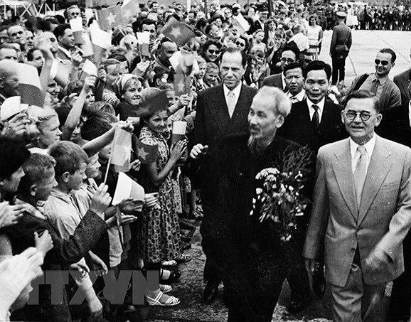 President Ho Chi Minh's thoughts on int'l solidarity hinh anh 25