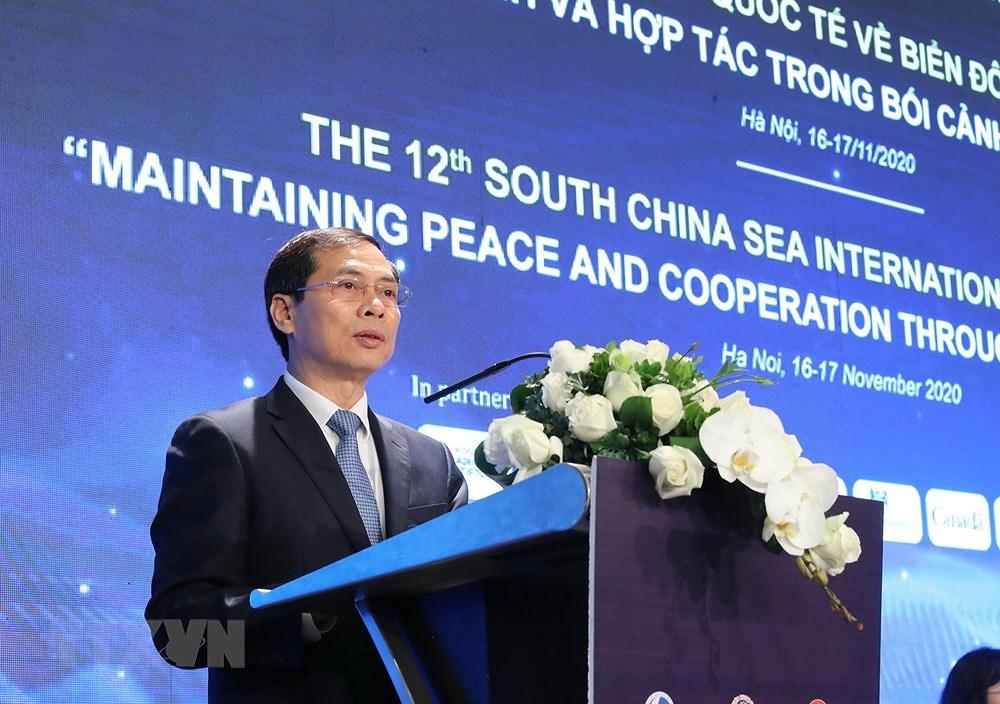 South China Sea Int'l Conference kicks off hinh anh 2