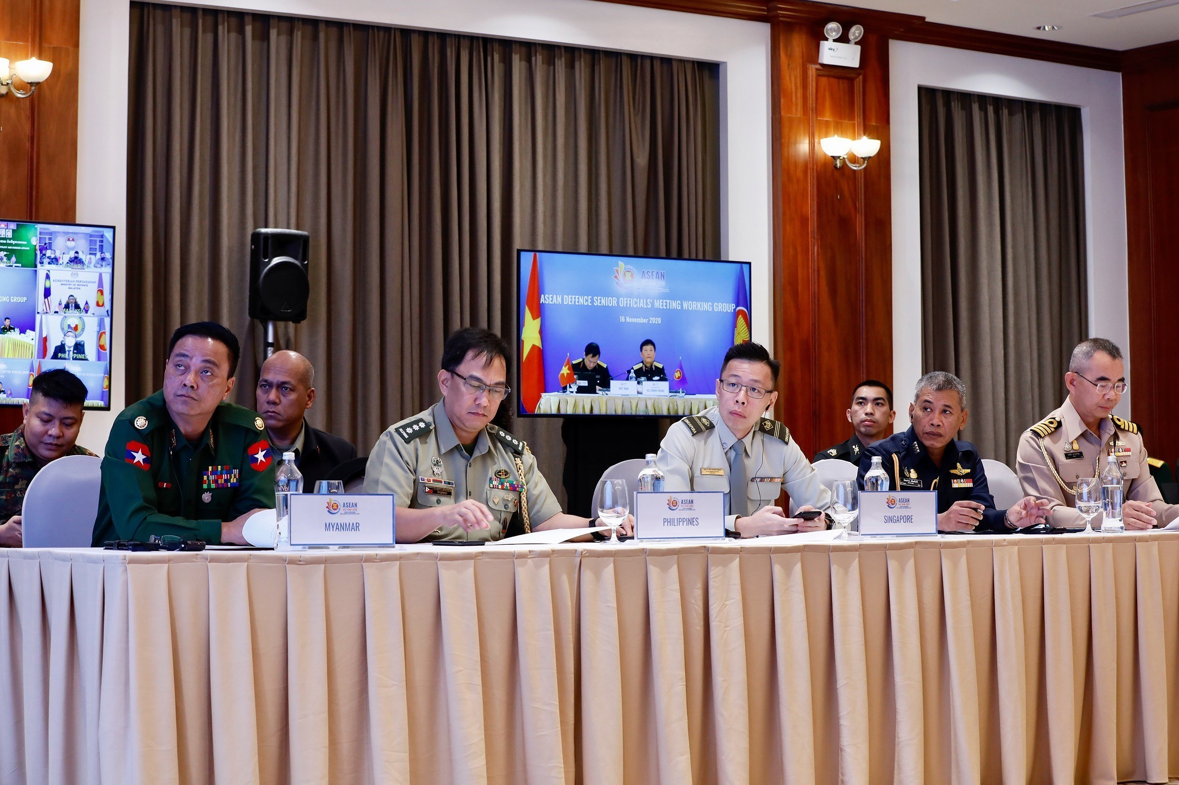 ASEAN member countries promote practical defence cooperation hinh anh 2
