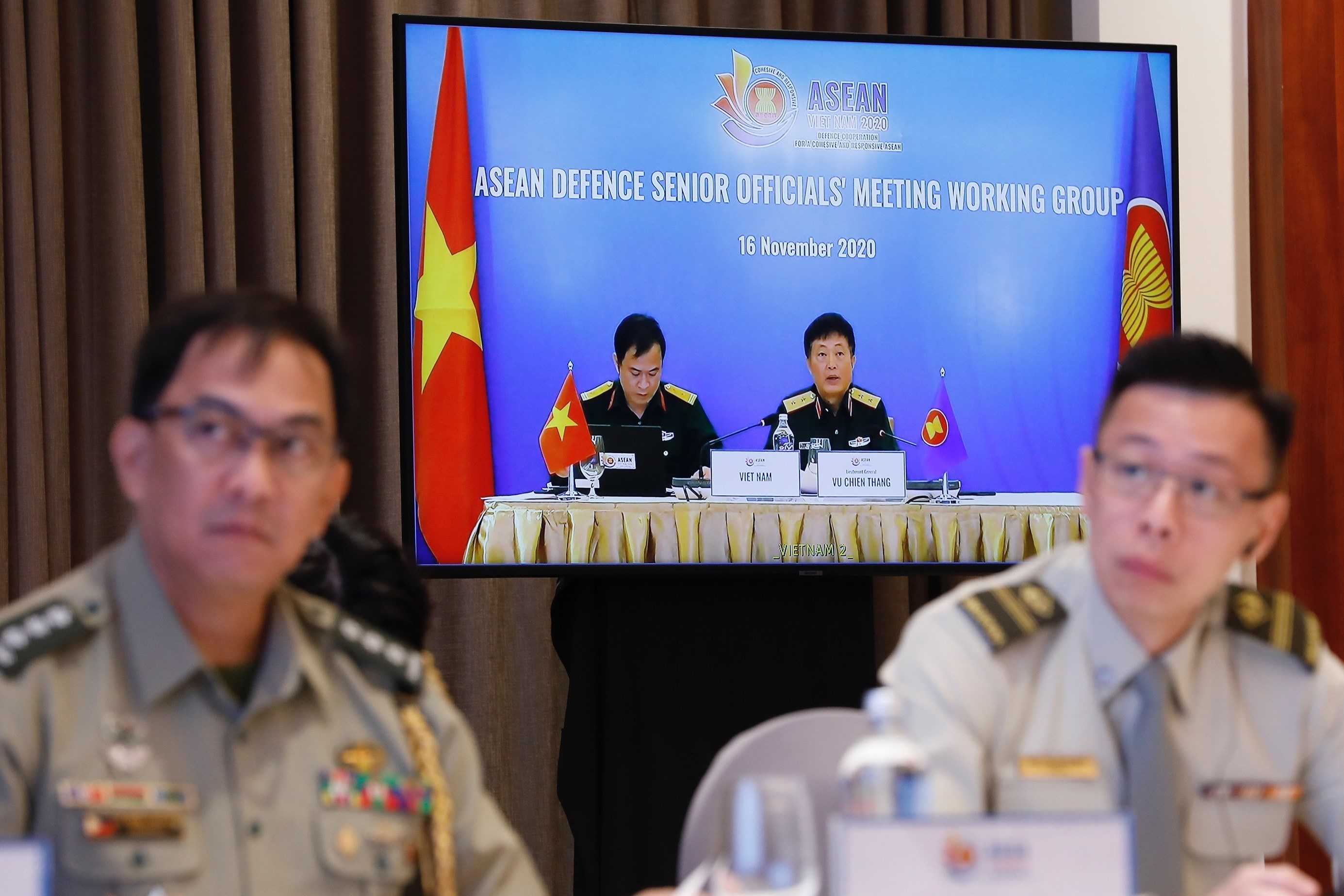 ASEAN member countries promote practical defence cooperation hinh anh 3
