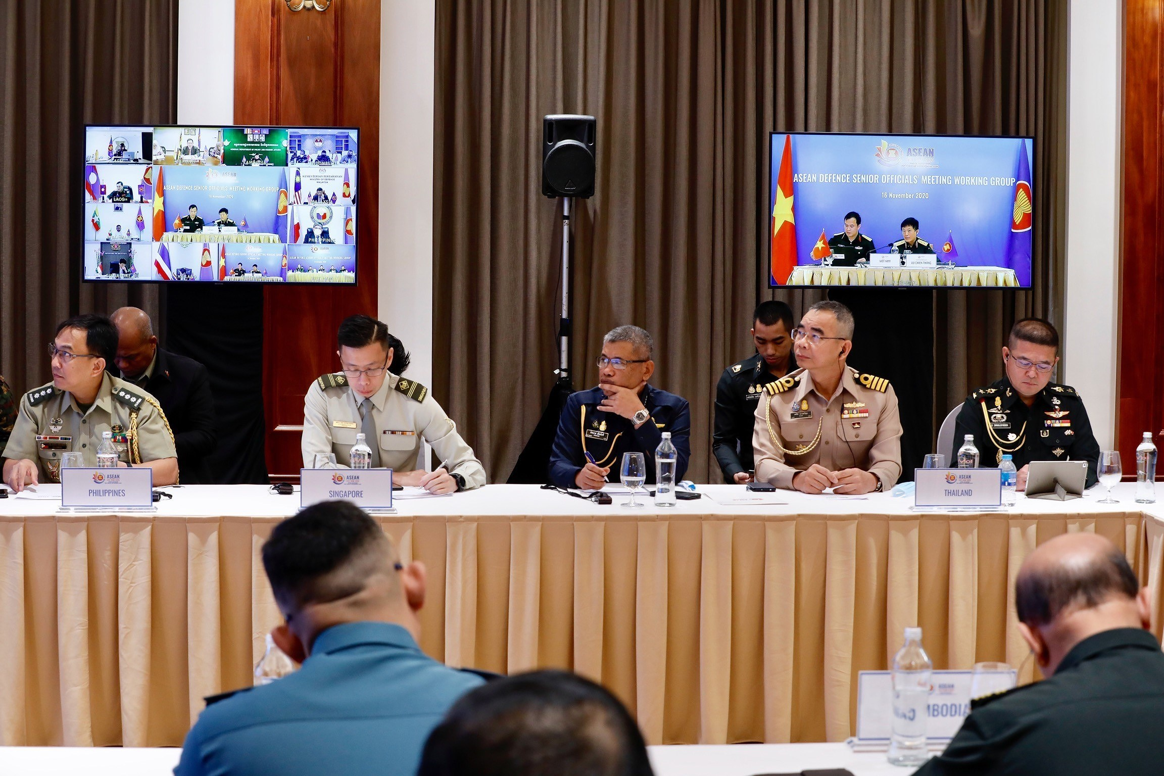 ASEAN member countries promote practical defence cooperation hinh anh 4