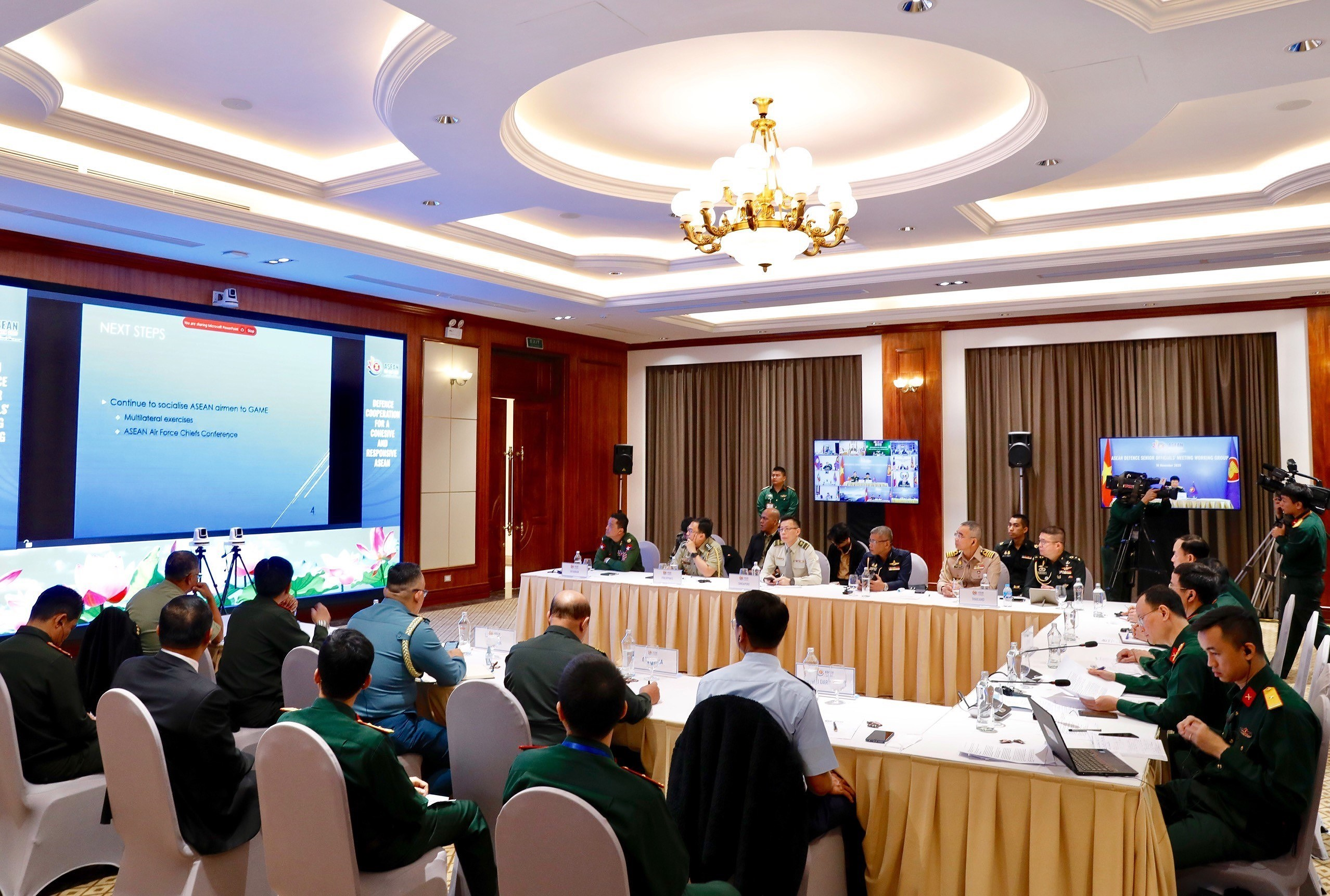 ASEAN member countries promote practical defence cooperation hinh anh 7