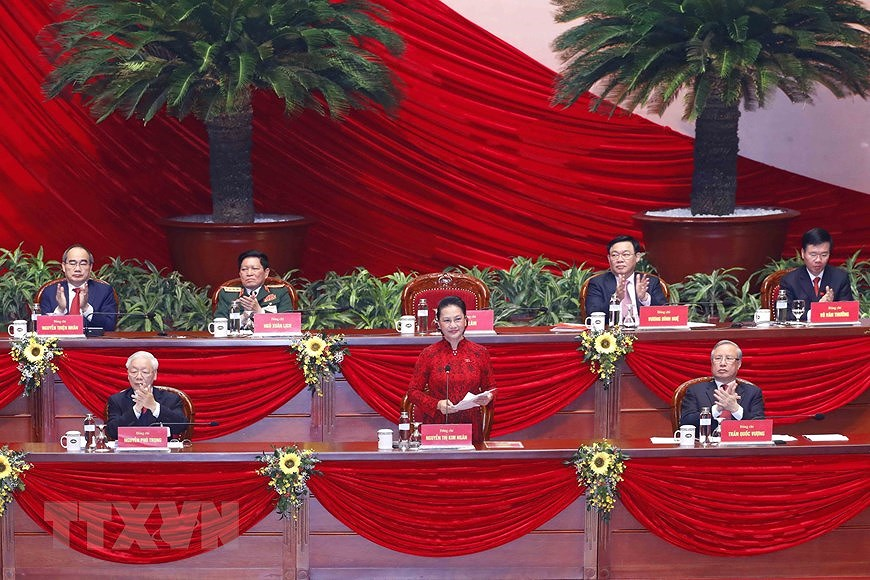 13th Party Central Committee makes debut hinh anh 1