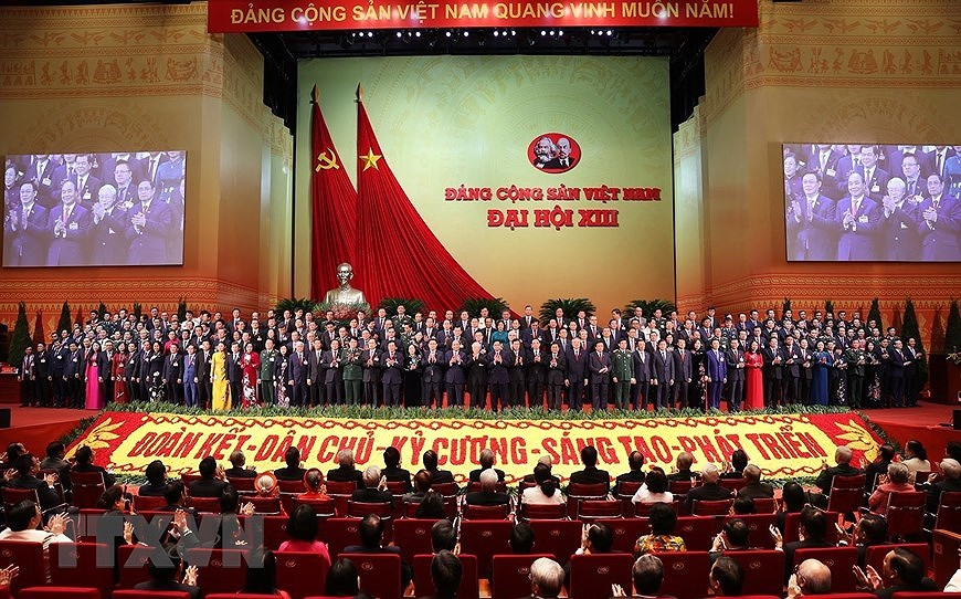 13th Party Central Committee makes debut hinh anh 2