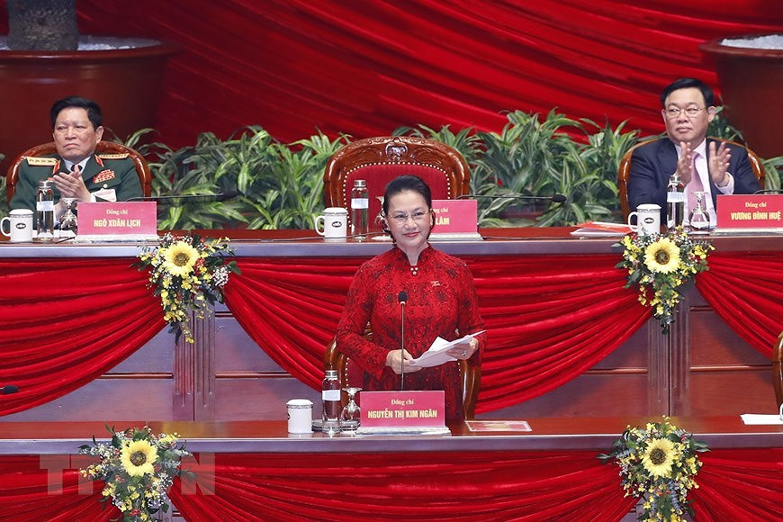 13th Party Central Committee makes debut hinh anh 4