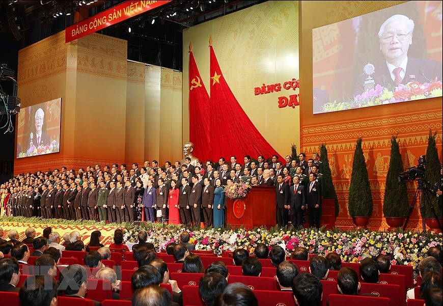 13th Party Central Committee makes debut hinh anh 6