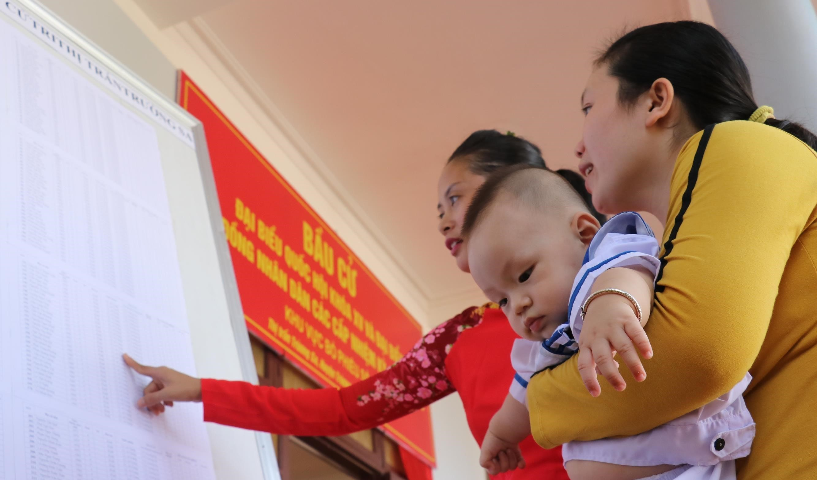 Joyful atmosphere in Truong Sa ahead of election day hinh anh 4