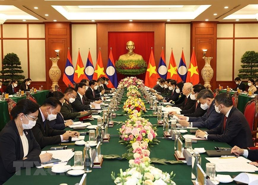 Nurturing Vietnam-Laos special relationship hinh anh 8