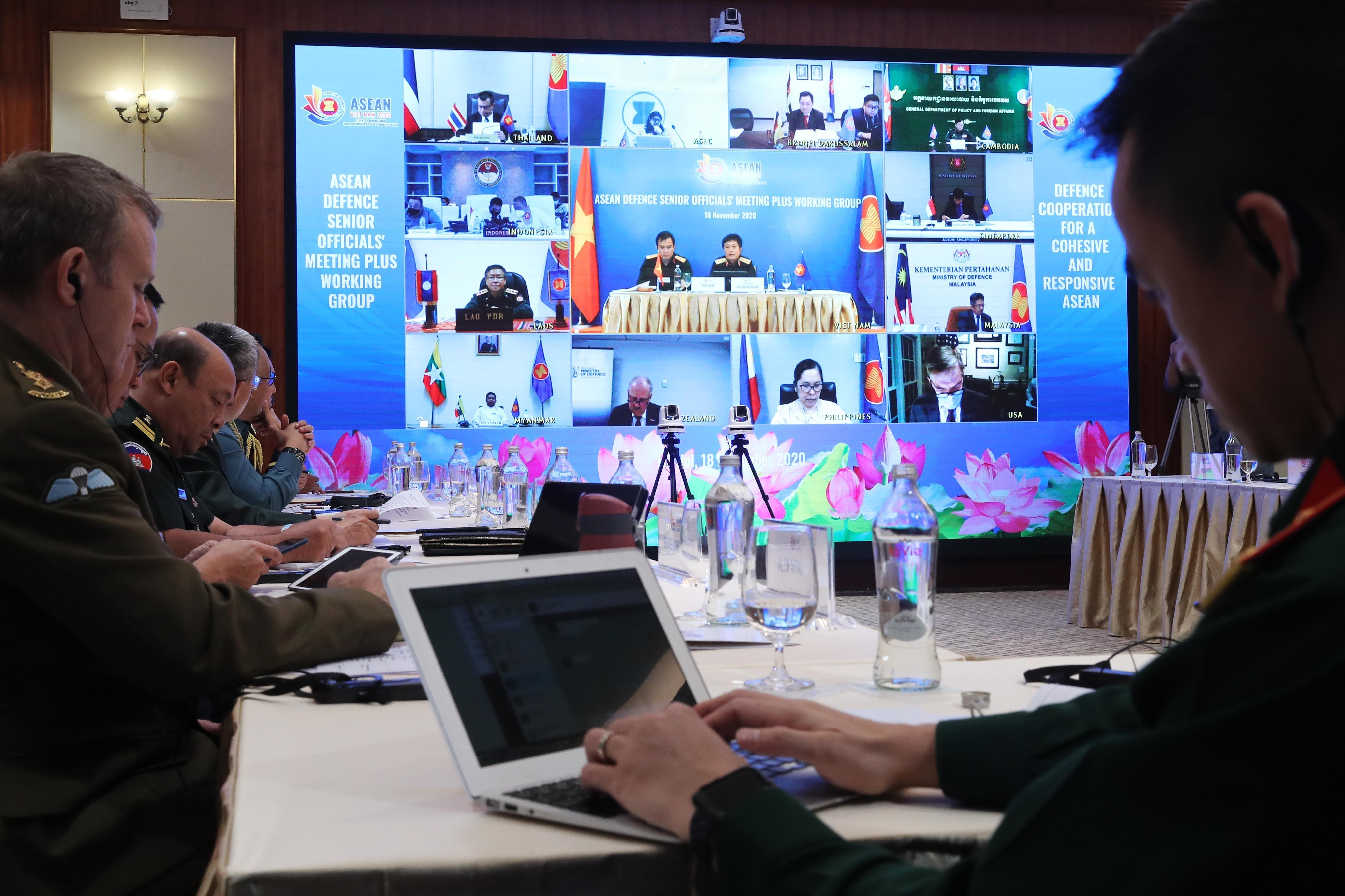 ASEAN 2020: ASEAN Defence Senior Officials' Meeting Plus Working Group hinh anh 6