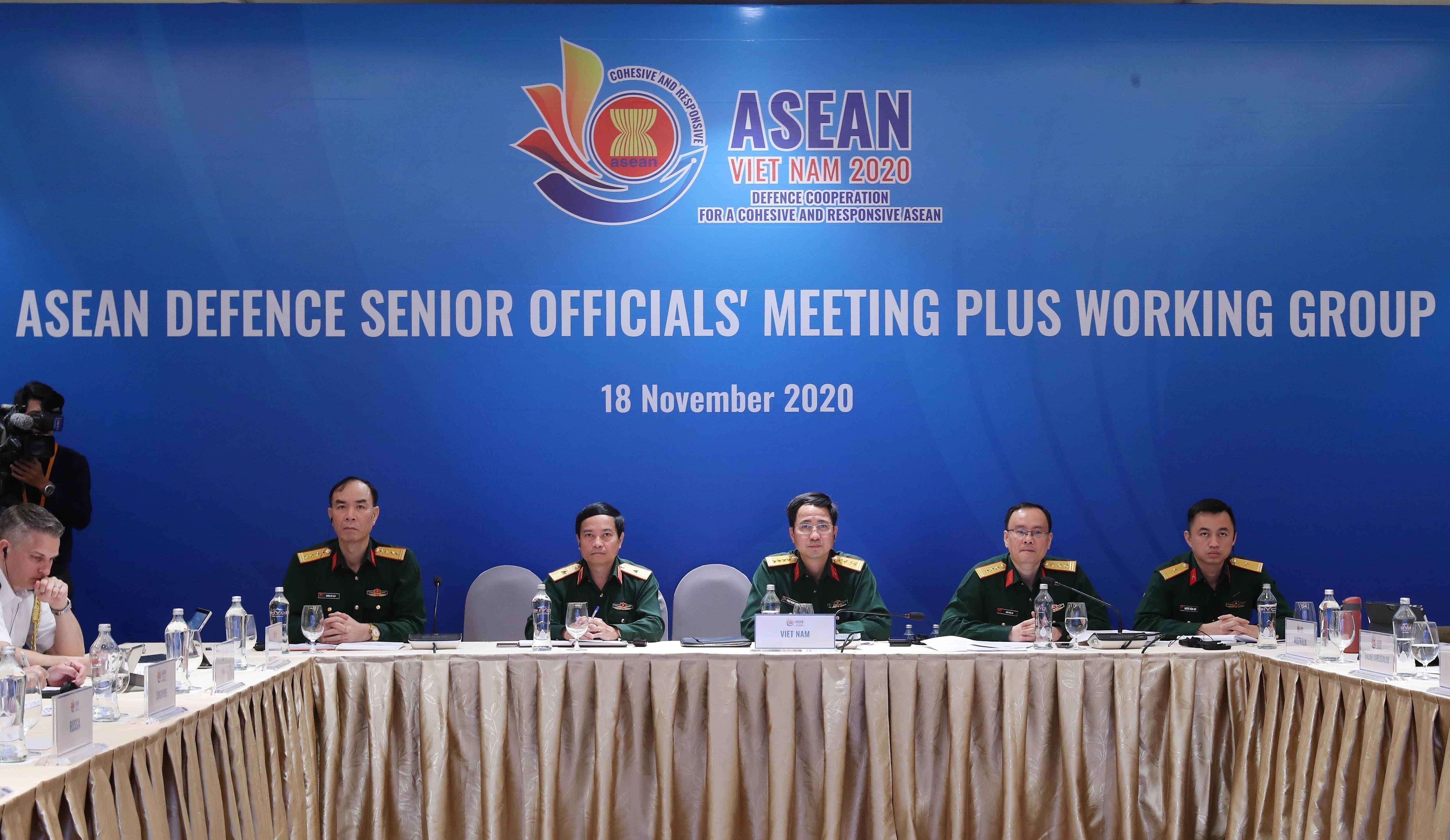 ASEAN 2020: ASEAN Defence Senior Officials' Meeting Plus Working Group hinh anh 1