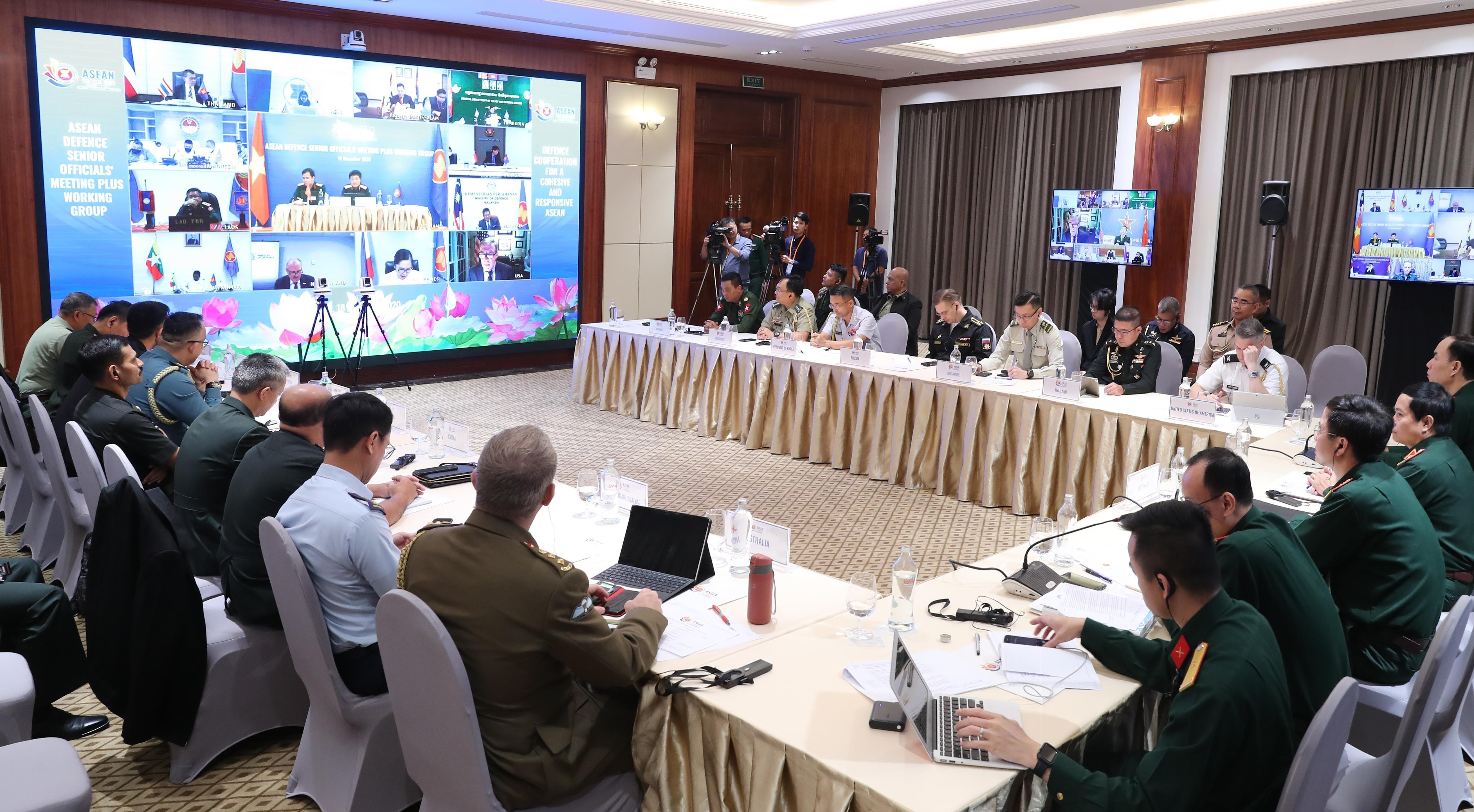 ASEAN 2020: ASEAN Defence Senior Officials' Meeting Plus Working Group hinh anh 4
