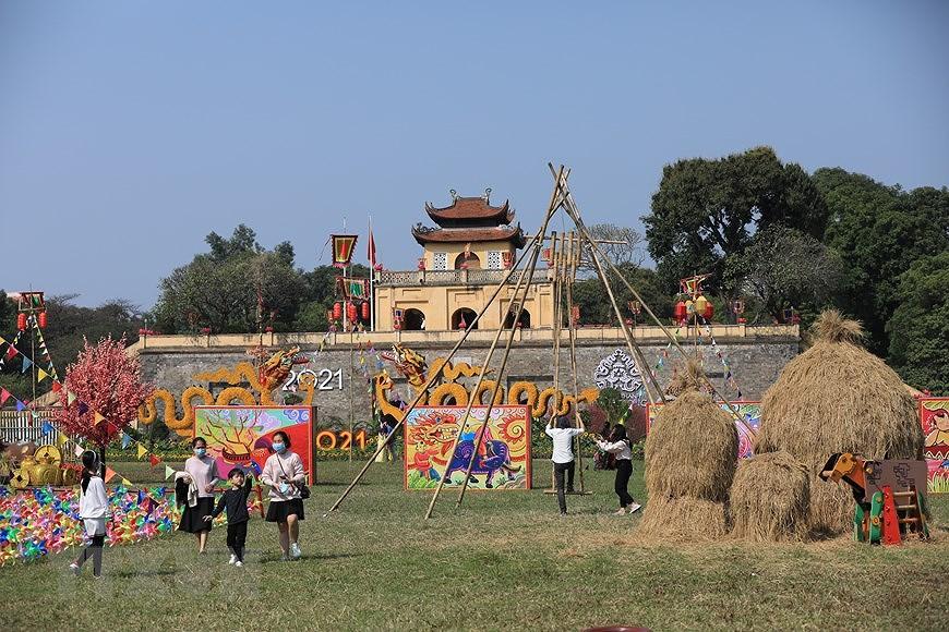 Vietnamese Tet Programme at Thang Long Imperial Citadel hinh anh 3