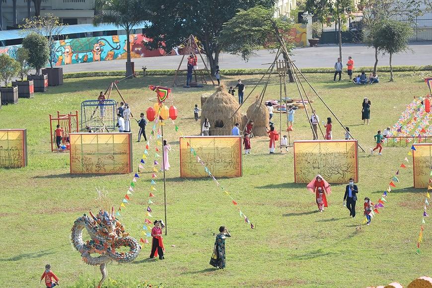 Vietnamese Tet Programme at Thang Long Imperial Citadel hinh anh 4