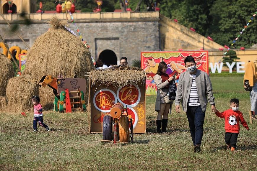 Vietnamese Tet Programme at Thang Long Imperial Citadel hinh anh 5