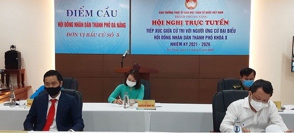 Da Nang to hold online meetings between candidates and voters hinh anh 1