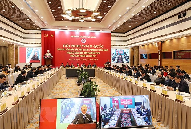 Mass mobilisation helps reinforce ties between Party, State, people: Party official hinh anh 2