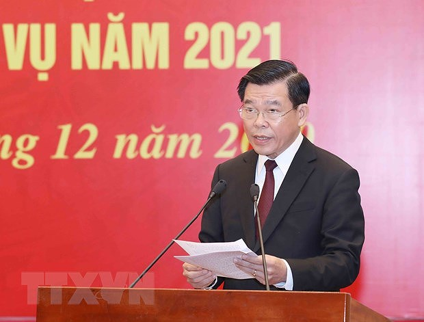 Mass mobilisation helps reinforce ties between Party, State, people: Party official hinh anh 3